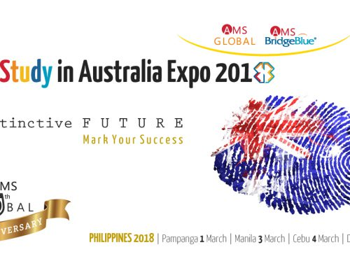 Study in Australia Expo 2018 by AMS Global and AMS BridgeBlue