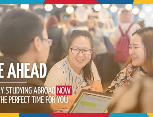 BE AHEAD: Why Studying Abroad NOW Is The Perfect Time For You