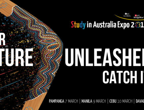 Study in Australia Expo 2019 by AMS Global and AMS BridgeBlue